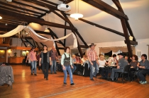 Linedance-Party in der Bauernscheune Bösleben